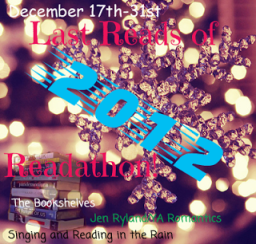 Last Reads of 2012 Readathon